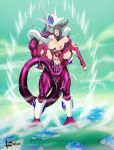 alien big_breasts blush breasts capcom cooler_(dbz) cyberunique_(artist) double_penetration dragon_ball dragon_ball_z elbow_gloves fingerless_gloves han_juri hardinkgirls juri_han purple_eyes street_fighter street_fighter_iv super_street_fighter_iv tail torn_clothing video_games