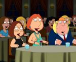 breasts chris_griffin dress family_guy lois_griffin meg_griffin