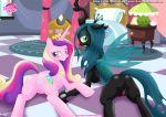 2girls equestria_untamed multiple_girls pony princess_cadance queen_chrysalis tagme