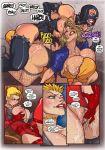 big_breasts black_canary breast breasts comic dc futa futanari justice krash_(artist) league legio power_girl sex slut super_girl whore wonder_woman
