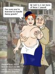 2014 albert_e_arkwright bbc breast_grab breasts british curvy grope huge_breasts human humor lynda_baron nurse nurse_gladys_emmanuel open_all_hours ronnie_barker shop thatoddguy uniform what