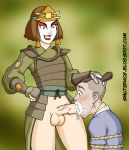 avatar fellatio futanari futanari_on_male sokka