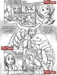 comic coraline incest milf milftoon monochrome mother_and_son sex uncensored