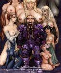 barbarian dark_elf drow dwarf elf everquest gnome half-elf halfling rog_minotaur