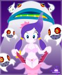 big_breasts breasts ghost ghost_girl heart king_boom_boo monster_girl night_of_the_werehog raa_(sonic) sega smile sonic_(series) sonic_unleashed tearing_clothes torn_clothes