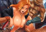 big_breasts bleach breasts group_sex jigglygirls penis rangiku_matsumoto reiq uncensored