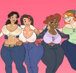 ass big_ass big_breasts breasts cleavage dijonay_jones disney erect_nipples jay-marvel lacienega_boulevardez nipples penny_proud proud_family smile zoey_howzer