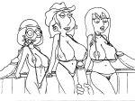 big_breasts bikini breasts cowboy_hat cum cum_on_face family_guy jillian_russell jillian_wilcox lois_griffin meg_griffin sbb