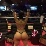 behind big_ass boxing_gloves fighter sweet_merciful_googly_moogly tattoo thong