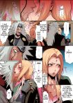 big_breasts breasts comic jiraiya kissing naru_love naruto nipples sex touching tsunade