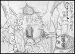 anal_penetration bayonetta bayonetta_(character) footjob pussy rukasu_(artist) testicle