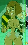 anal bitch breast brown_hair danny_phantom green_eyes hot incest madeline_fenton milf mom mom_son nude pedrozebra_(artist) pussy sexy son