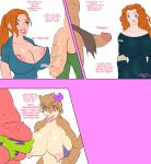 ben_10 ben_tennyson big_breasts brave disney gwen_tennyson jay-marvel merida patrick_star princess_merida sandy_cheeks spongebob_squarepants