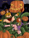 daphne_blake forced halloween nipples penetration ripped_tights scooby-doo tentacle tits_out velma_dinkley