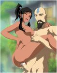 age_difference ass avatar:_the_last_airbender black_hair breasts closed_eyes cum cum_in_pussy cum_inside dark_skin korra legend_of_korra nipples open_mouth penetration tattoo tenzin vaginal vaginal_penetration