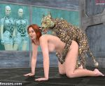 3d alien animal dog female outerspace sex zoo