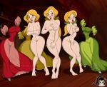 artjimx beauty_and_the_beast bimbettes breasts claudia disney laura nude paula tagme