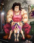 chun-li doggy_position final_fight hugo poison street_fighter tagme