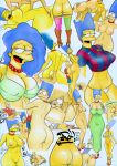 anal anus areolae ass bart_simpson big_breasts bikini blowjob blue_hair bra breasts cleveage clothed cowgirl_position cum cum_on_ass doggy_style dress erect_nipples fellatio flashing from_behind heels high_heels incest jersey jewelry looking_back marge_simpson milf missionary_position mother_and_son mothers_duty necklace nipples nude oral pearl_necklace pearls penetration purse pussy screaming sex sexy shirt stockings swim_suit tagme the_simpsons vagina vaginal vaginal_penetration zarx_(artist)