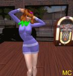 breasts dancing daphne_blake gif scooby-doo