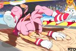 2014 amy_rose anthro blush closed_eyes clothing crossover fail female group hair lakitu male mario_bros marthedog nintendo pink_hair pussy sand scorpion_(position) solo_focus sonic_(series) torn_clothing video_games
