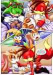 3girls anthro fiona_fox hunting_for_milfs mobius_unleashed multiple_girls scourge_the_hedgehog tagme vanilla_the_rabbit video_games