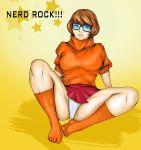 cameltoe panties pubic_hair scooby-doo skirt socks velma_dinkley