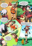 brendan comic may minun plusle pokemon pokemon_rse pokepornlive secret_bases tagme torchic