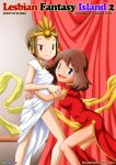 comic crossover digimon kari_kamiya lesbian_fantasy_island may palcomix pokemon tagme