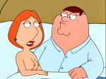breasts family_guy lois_griffin nipples peter_griffin