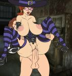 big_breasts breasts gif huge_breasts meet_and_fuck tagme toon witch