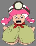 breasts captain_toad clothed huge_breasts tagme toadette