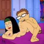 american_dad analingus anilingus animated animated_gif ass asslicking brother_and_sister gif guido_l hayley_smith incest steve_smith