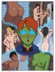 ass breasts comic kneel miss_martian nipples nude pussy sex sexy sucking superboy x-ray young_justice