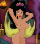 aladdin_(series) big_breasts disney nude princess_jasmine tagme tits