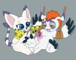 art:bananabruises circumcision digimon friendship fun furry gatomon gomamon operation sex surgery