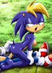 1girl anthro bernadette_hedgehog furry hedgehog mobius_unleashed sex tagme