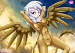 1girl breasts equestria_untamed friendship_is_magic gilda my_little_pony tagme wings