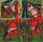 ass comic incest mr._incredible pain the_incredibles violet_parr