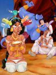 aladdin aladdin_(series) disney genie genie_(aladdin) princess_jasmine tagme titflaviy