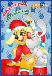 animated brandy_and_mr._whiskers brandy_and_mr_whiskers brandy_harrington christmas gif holidays jaimeprecoz2 mr_whiskers