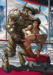 anal_sex interspecies minotaur piercing prot_(artist)