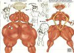 big_ass big_breasts bikini breasts dxoz fat_ass giant_ass huge_ass huge_breasts marianne_smith powerpuff_girls professor_utonium