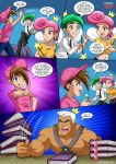 1girl comic cosmo dream_catcher palcomix tagme the_fairly_oddparents timmy_turner wanda