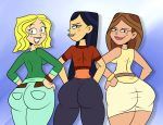 big_ass bih_hips carrie dat_ass emma scobionicle99 taylor_(the_ridonculous_race) the_ridonculous_race total_drama_island