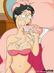 barbara_pewterschmidt breasts cum family_guy fellatio jackie_gleason milf navel oral pixaltrix