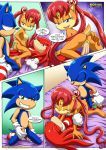3sum amy_rose anal ass big_breasts comic cowgirl doggy_position group_sex knuckles_the_echidna male mobius_unleashed palcomix parody rosy_the_rascal round_butt sailor_moon sally_acorn sonic_team sonic_the_hedgehog the_luna_connection threesome vaginal