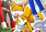 furry knuckles_the_echidna penis rear_deliveries sega shadow_the_hedgehog sonic_boom sonic_the_hedgehog tagme tails yaoi