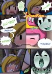 adventure_time comic fionna_the_human marceline misadventure_time princess_bubblegum