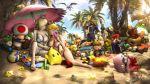 3d beach big_breasts bowser breasts captain_falcon cleavage hot insanely_hot jigglypuff luigi mario nintendo pikachu pokemon princess_peach princess_rosalina samus_aran sexy super_mario_bros. super_smash_bros. urbanator
